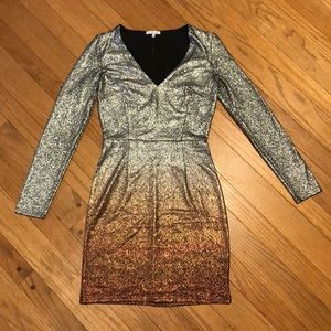 Ombre fitted dress only worn once